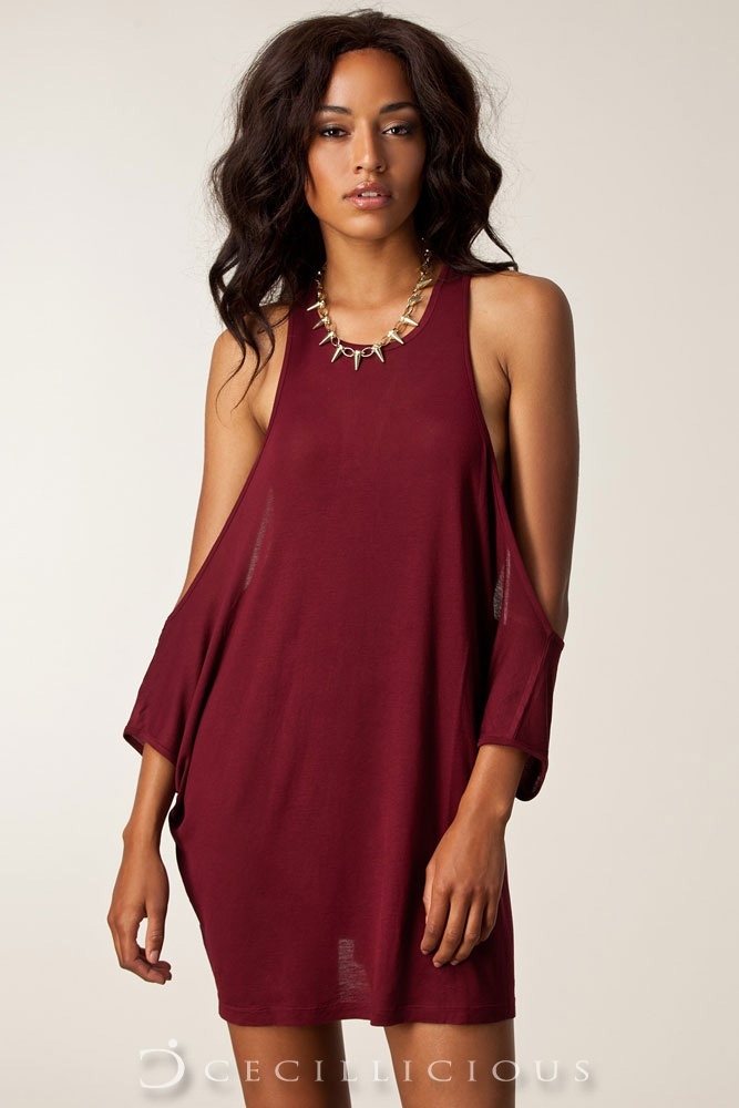 Pre-Order Converse Drape Top Maroon online with Cecillicious for only $13.00. Delivery to Australia wide.