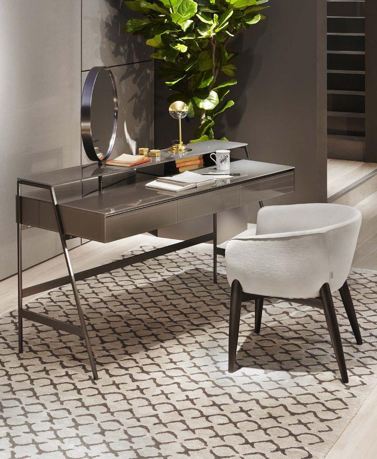 Venere desk with mirror by Gallotti & Radice