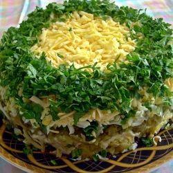 Этот новый салат сметается за минуту