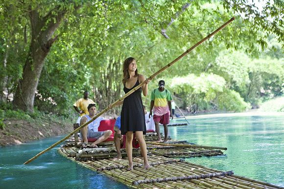 Bamboo River Rafting , Martha Brae River in Jamaica. Book with Paradise Palms Jamaica Villa http://www.paradisepalmsjamaica.com. Jamaica. Jamaica tours, cruise excursions, sightseeing tours, things to do and day trips at affordable rates can be found here at http://www.paradisepalmsjamaica.com