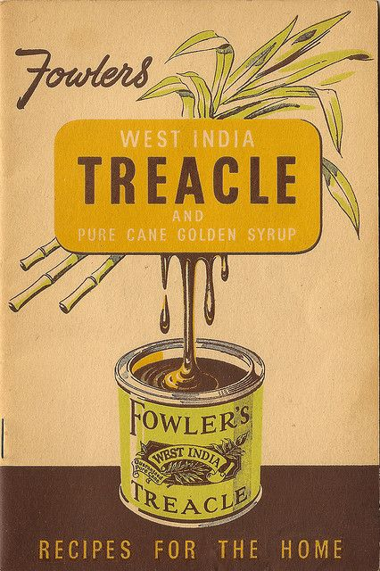 Fowler's treacle recipe booklet.