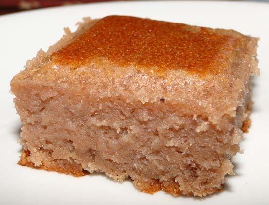 Fondant à la crème de marrons