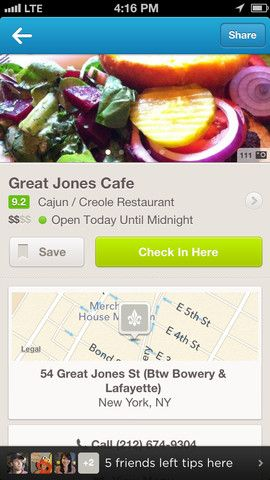 """Of all the local apps I've used to discover new restaurants and find other services, the Foursquare database, or """"discovery engine,"""" has some of the best local information."""