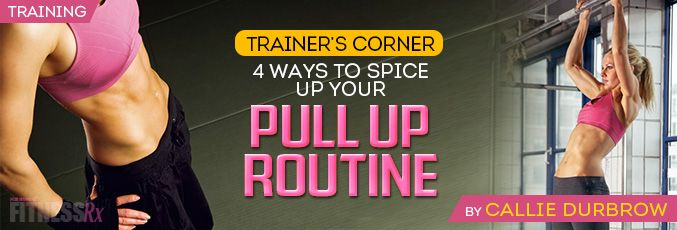 Master The Pull-Up | FitnessRX for Women