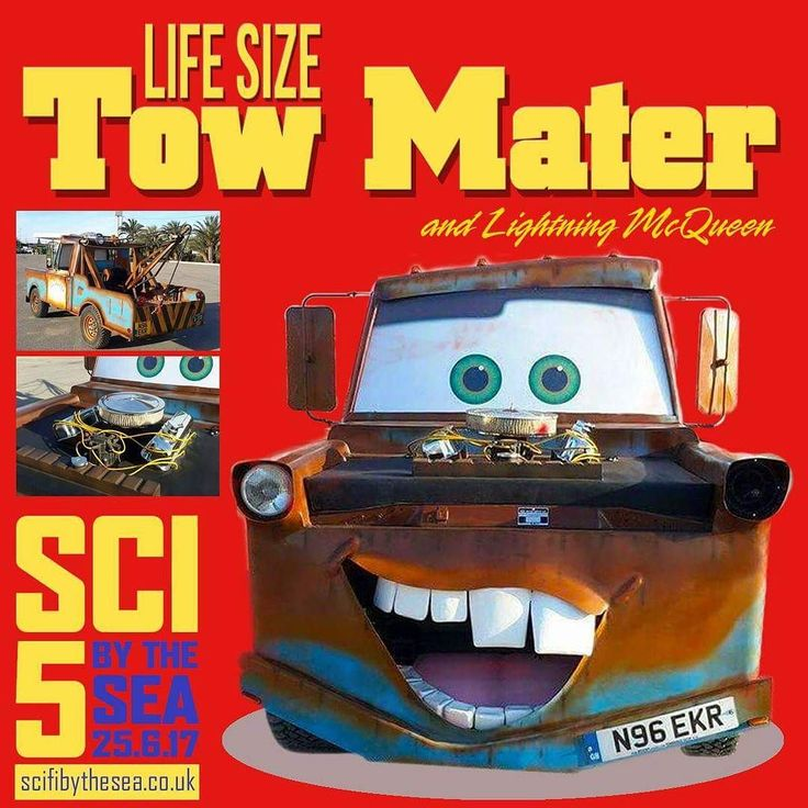 With Cars 3 out soon after Sci-Fi by the Sea Herne Bay we've booked these fantastic smile generators that fans big and small will love. Say hello to a life size Tow Mater and Lightning McQueen on Sunday 25th June.  Head over to http://ift.tt/1LRb3U9 for all the info or dive straight into http://ift.tt/1NaqDIK to buy your tickets. If you're buying locally pop into Peters Produce The Activity Box or Kids Korner Toy & Fancy Dress Shop.  We've got celebrities including James Cosmo (Game of…