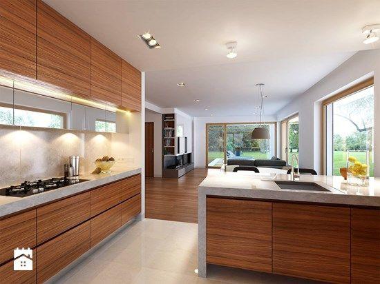 Kuchnia styl Minimalistyczny - zdjęcie od DOMY Z WIZJĄ - nowoczesne projekty domów