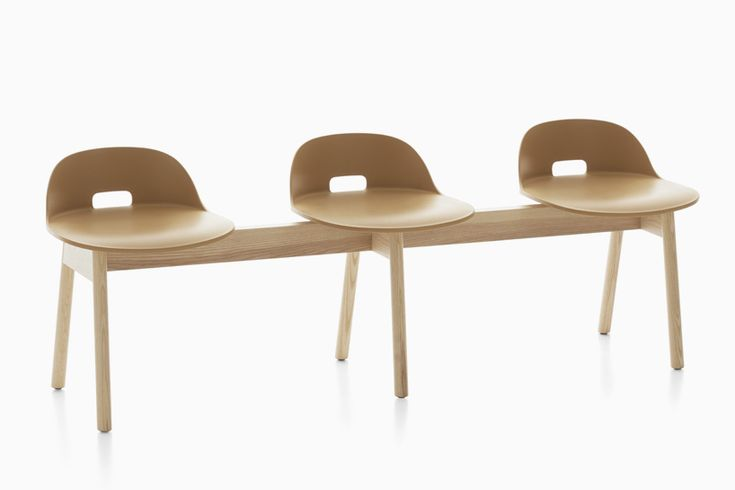 jasper morrison conceives alfi seating collection for emeco