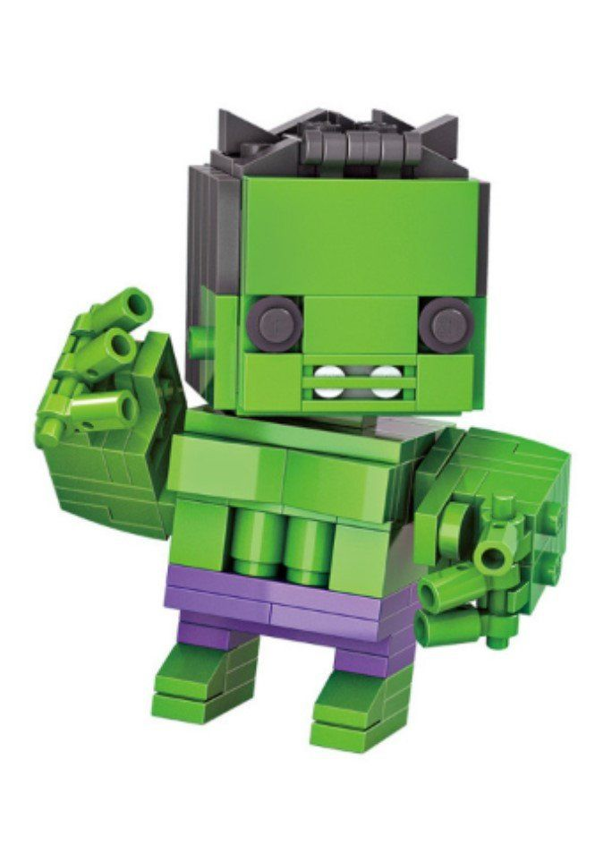 New 2016 LOZ Mini Blocks The Avengers Hulk