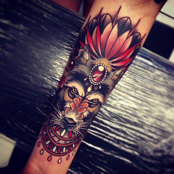 Tattoo by Tom Bartley, apprentice tattooist @ tattooed warrior tattoo studio, Brisbane