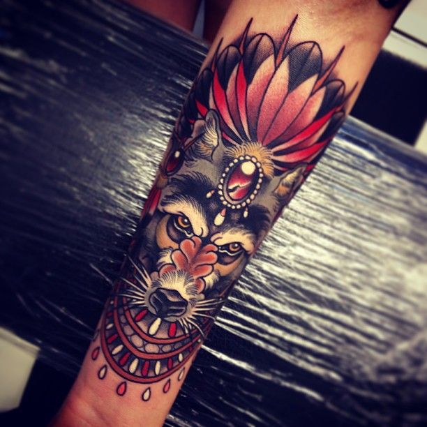 Tattoo by Tom Bartley, apprentice tattooist @ tattooed warrior tattoo studio, Brisbane