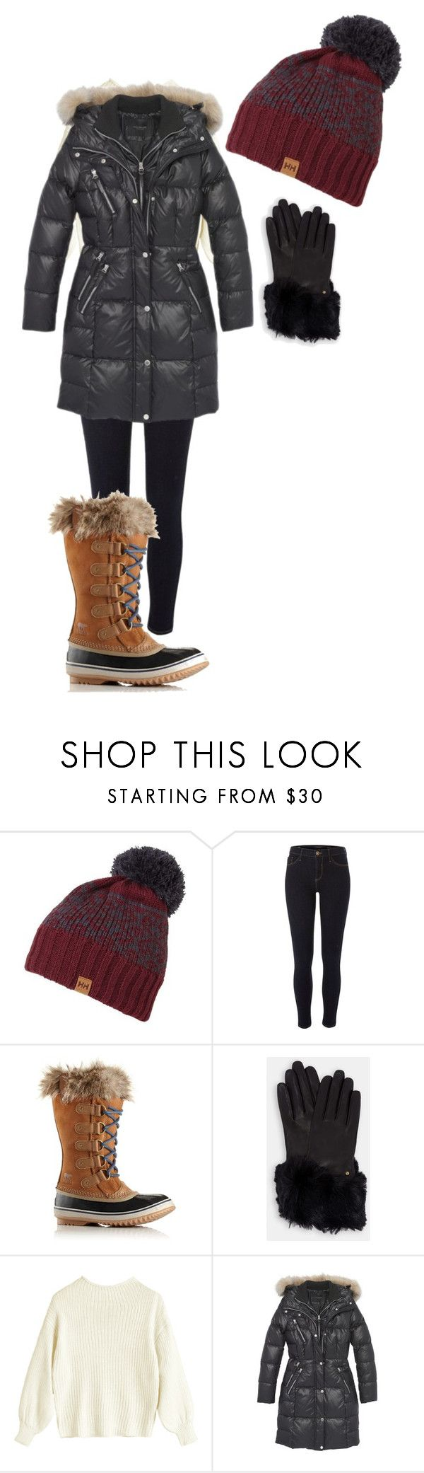 """Untitled #686"" by karinasoto39 on Polyvore featuring Helly Hansen, River Island, SOREL, Ted Baker and Andrew Marc"