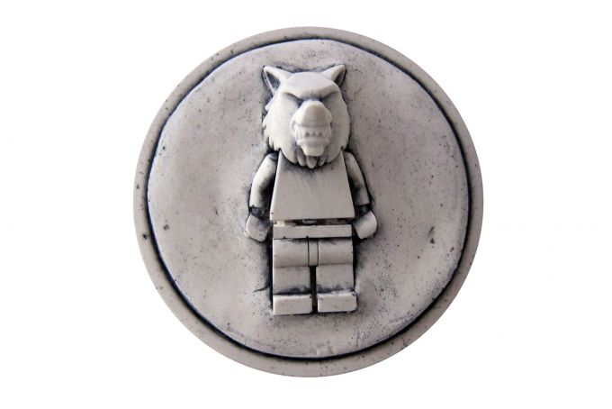 rare wolf wall plaque by Bigkid Design