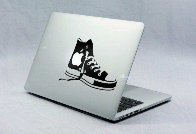 Sticker Macbook Chaussure