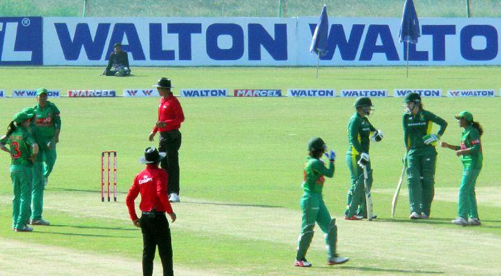 South Africa women set 252 for Bangladesh