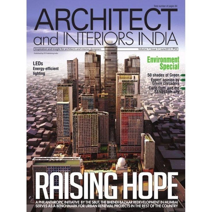Architect Interiors June 2015 Magazine By ITP Publishing India Pvt
