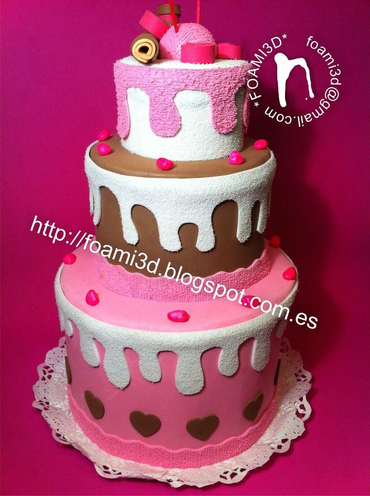 Torta de Cumpleaños Goma Eva