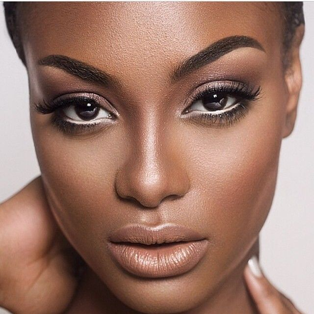 NUDE INSPIRED MAKEUP LOOK FOR THE WEEKEND   - Find makeup, fashion and more at https://withevette.avonrepresentative.com #darkskinmakeup
