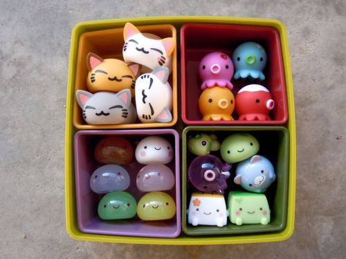 kawaii toys, great for party favours