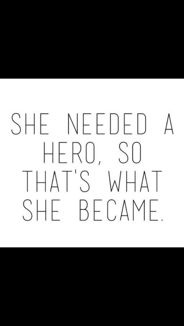 """She needed a hero, so that's what she became. Reminds me of Merry in """"Dauntless"""""""