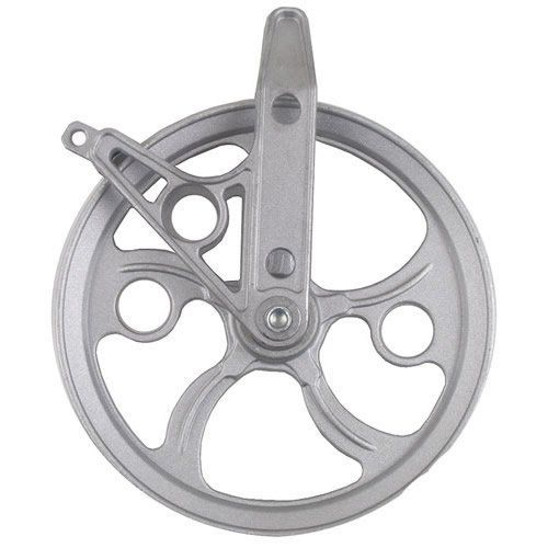 """Ball Bearing Metal Clothesline Pulley, 5 1/2"""" by Steelplast. $10.99. Will not rust."""