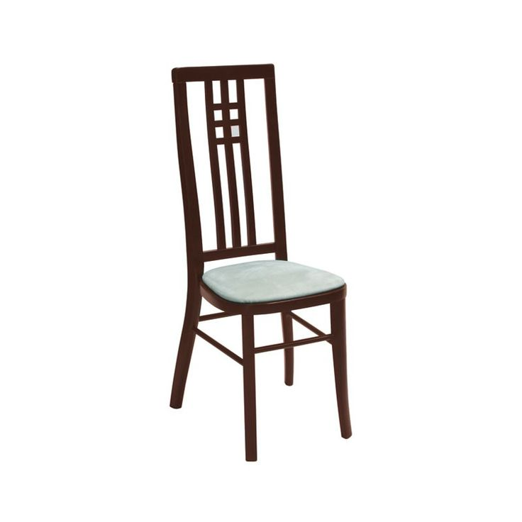 High Back Banqueting Chair Dark Oak - This gorgeous high slatted back chair  provides a more