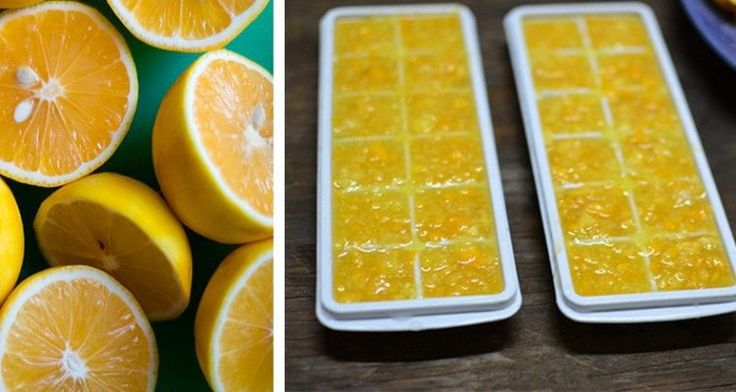 Activate Lemon's Hidden Cancer and Inflammation Fighting Powers By FREEZING Them Like This