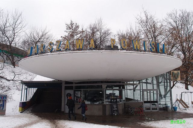 Modernism in Poland - Warszawa Powiśle PKP Station | Flickr - Photo Sharing!