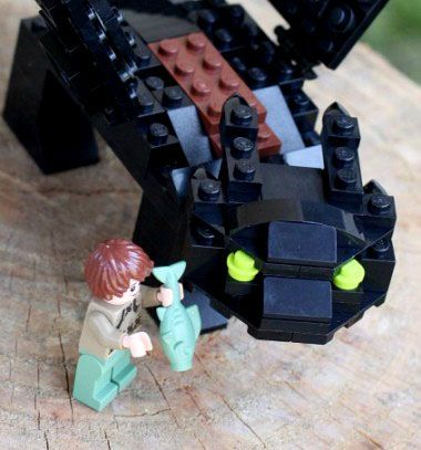 Toothless - Lego nighfury dragon (building instructions) // Fogatlan - Éjfúria lego sárkány (építési útmutatóval) // Mindy - craft tutorial collection // #crafts #DIY #craftTutorial #tutorial #LegoBuilding #LegoCrafts #DIYLego