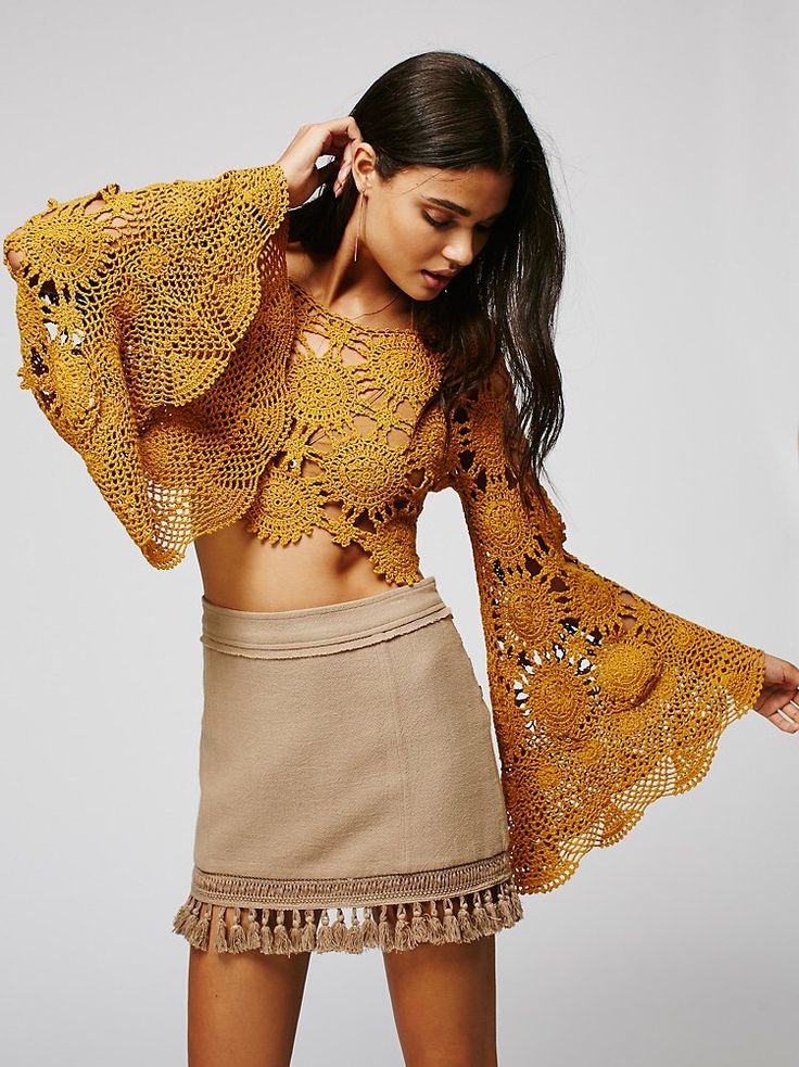 Sunchaser Crochet Top from Free People!