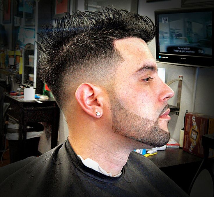Clean Fade And Beard Line Up Done By Signaturebarber