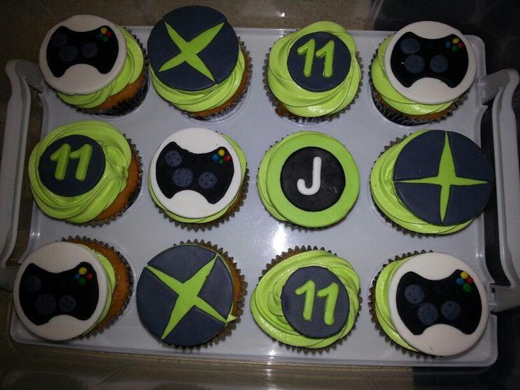 X box cupcakes