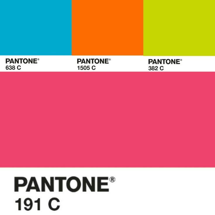 #Pantone #colors chart . #antoswimwear