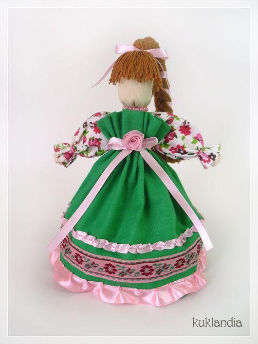 Народные куклы ручной работы. Веснянка, оберег красоты. Виктория Купцова (kuklandia). Ярмарка Мастеров. Весенняя, оберег на счастье, яркая