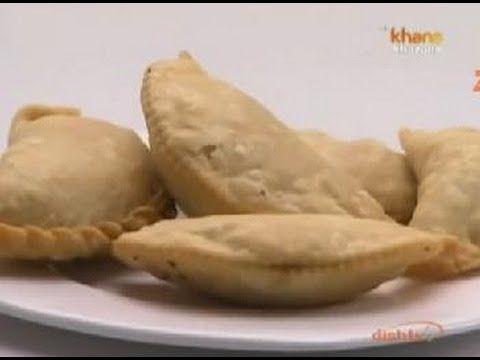 Mawa Gujiya - Sanjeev Kapoor - Khana Khazana - YouTube