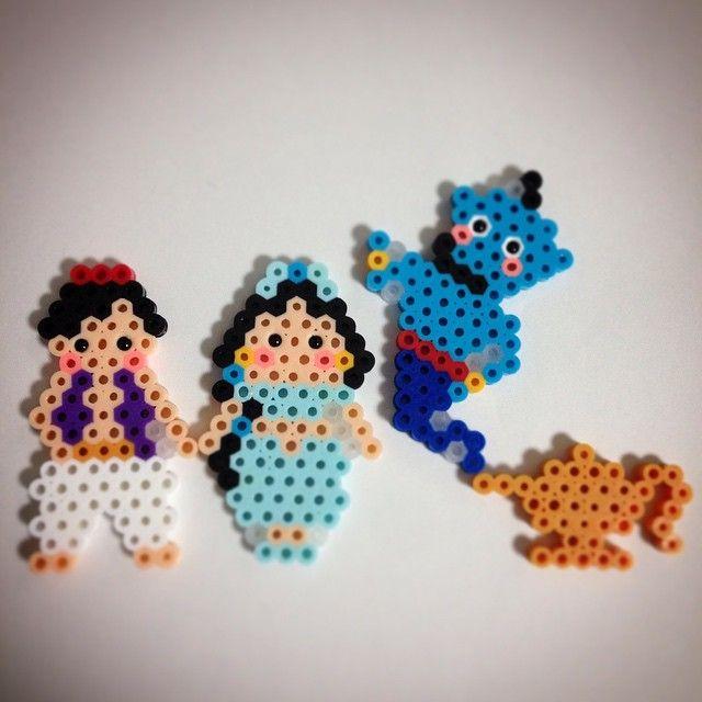 Aladdin perler beads by ringo_0122