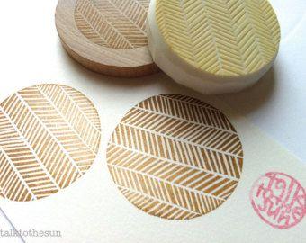 Kreis-Stempel. geometrische Muster Hand von talktothesun auf Etsy