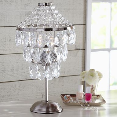 Sparkle Drop Table Lamp #17BestRoomEver