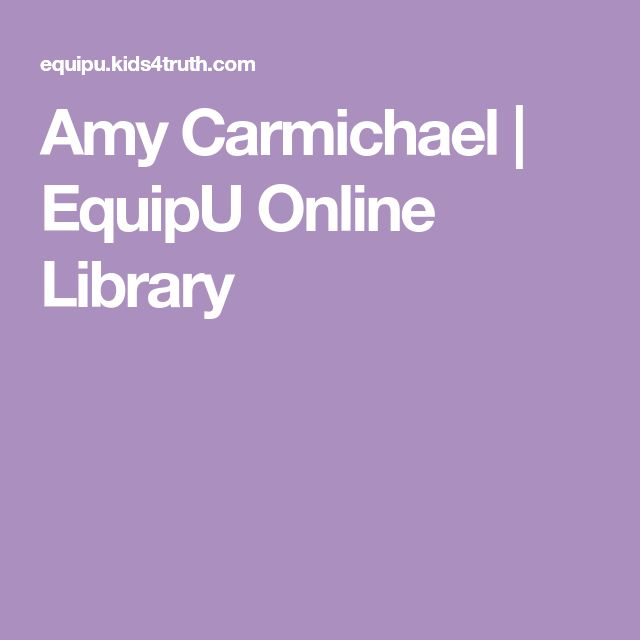 Amy Carmichael   EquipU Online Library