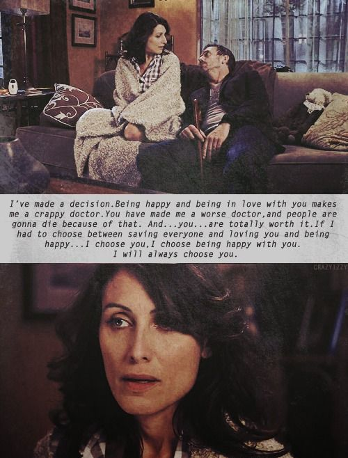 House MD ... Huddy - by far one of the best love stories on TV.