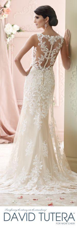 The David Tutera for Mon Cheri Fall 2015 Wedding Gown Collection - Style No. 215278  Florine  davidtuteraformonformoncheri.com #weddingdresses #weddinggowns