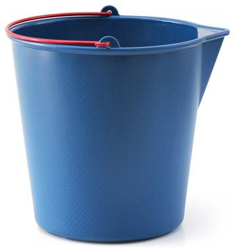 Drop Bucket, Navy Blue contemporary-cleaning-buckets