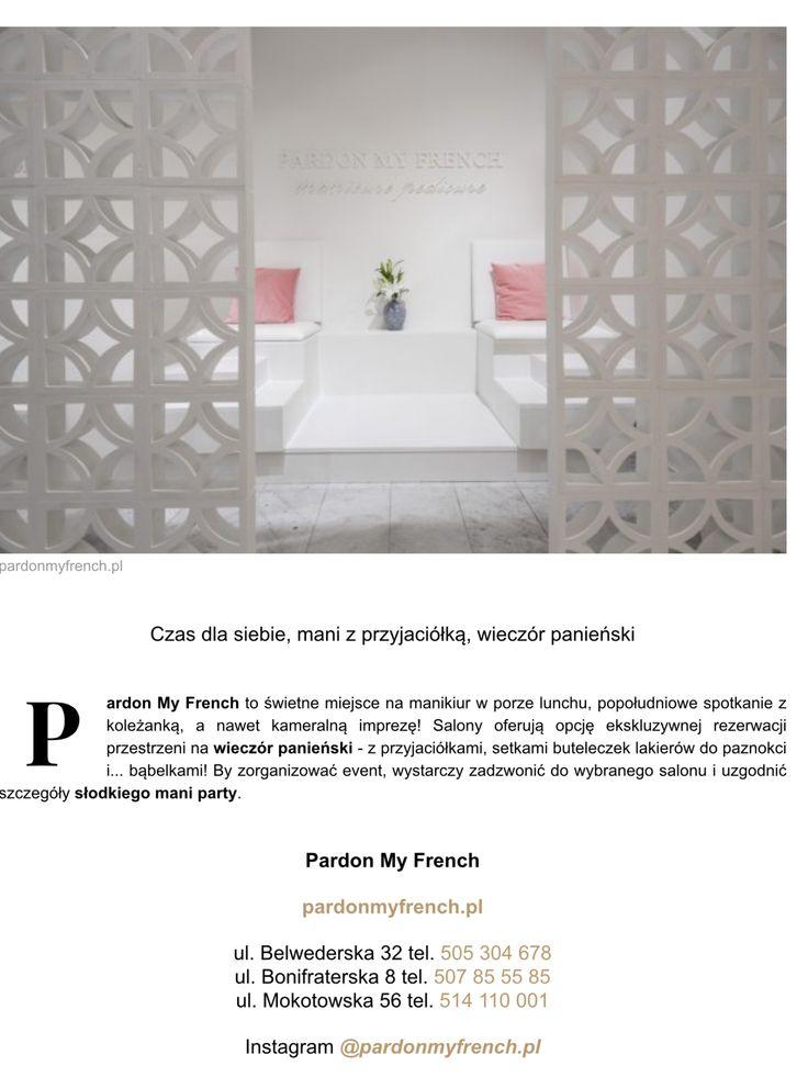Dziekujemy miumag.pl !  http://miumag.pl/beauty/nowy-ohsochic-adres-na-mani-pardon-my-french-mokot-5284