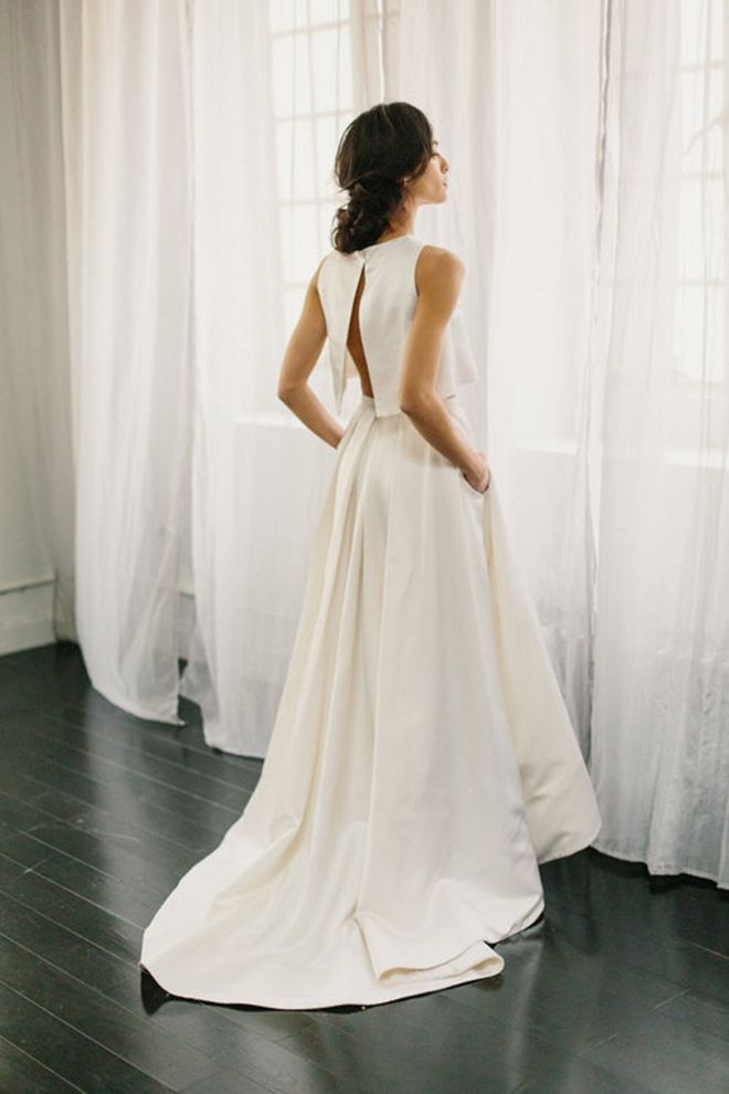 Alexandra Grecco Florence Skirt & Blouse | Super Stylish Two-Piece Wedding Dresses
