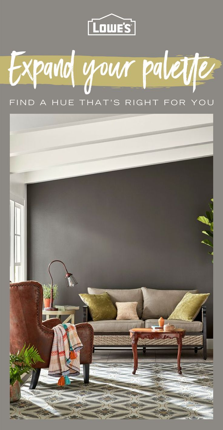 Add A Splash Of Color To Any Space In Your Home With Paint Options Available At Lowes Com See Interior Design Living Room Living Room Colors Living Room Paint