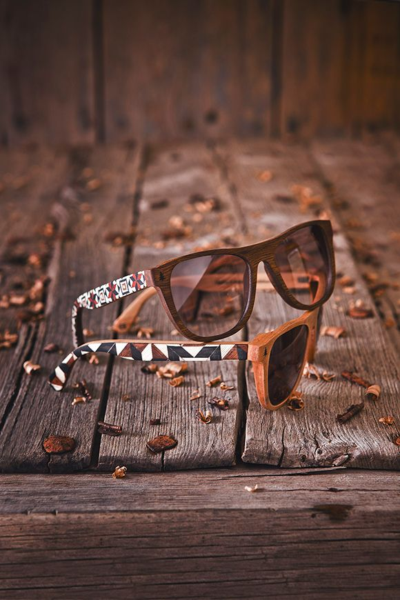 Gafas de sol de madera artesanales                                                                                                                                                     Más