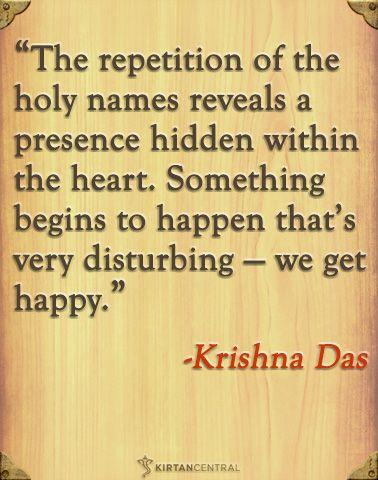 Krishna Das on kirtan. www.kirtancentral.com
