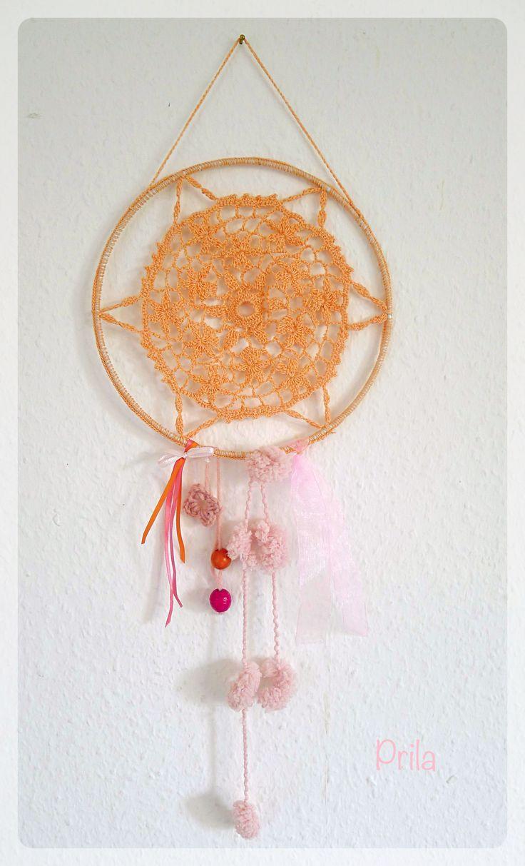 Handmade crochet circle