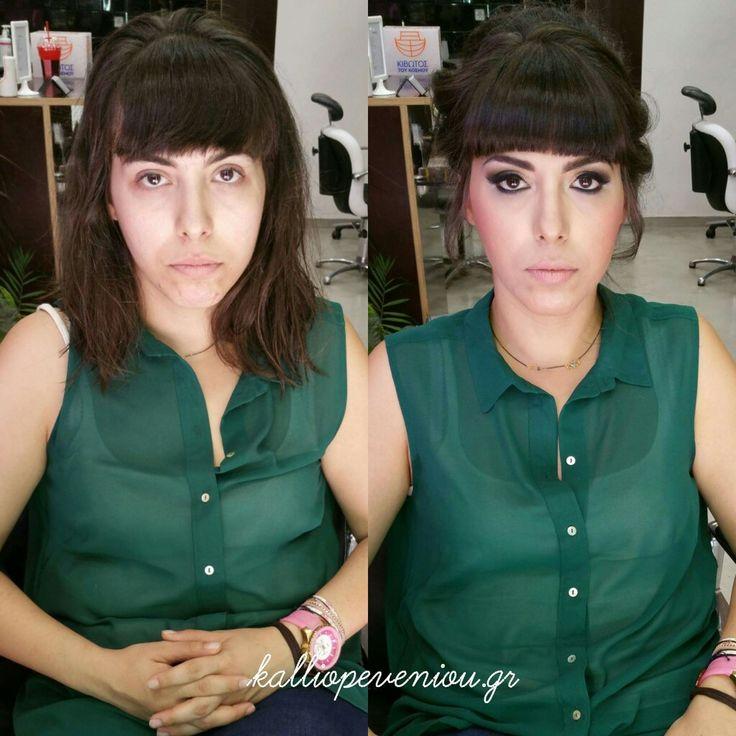 #magic #makeupexpert #hairdressing #hairsalon #hairtransformation #kalliopeveniou #beunique #behindthechair #modernsalon #becausewecan #instabeauty #makemepretty #makeupartist #lovemyjob #lovewomen