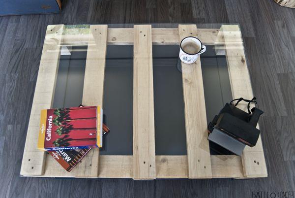 Batlló.5 Mini Palet Table | Batlló Concept