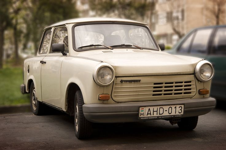 We have been counting Trabants, this is the 16th Trabby in 3.5 weeks